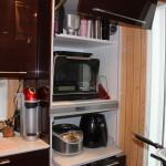 家電収納型カップボードも採用したいオプション
